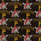 MLB Pittsburgh Pirates Cotton Fabric